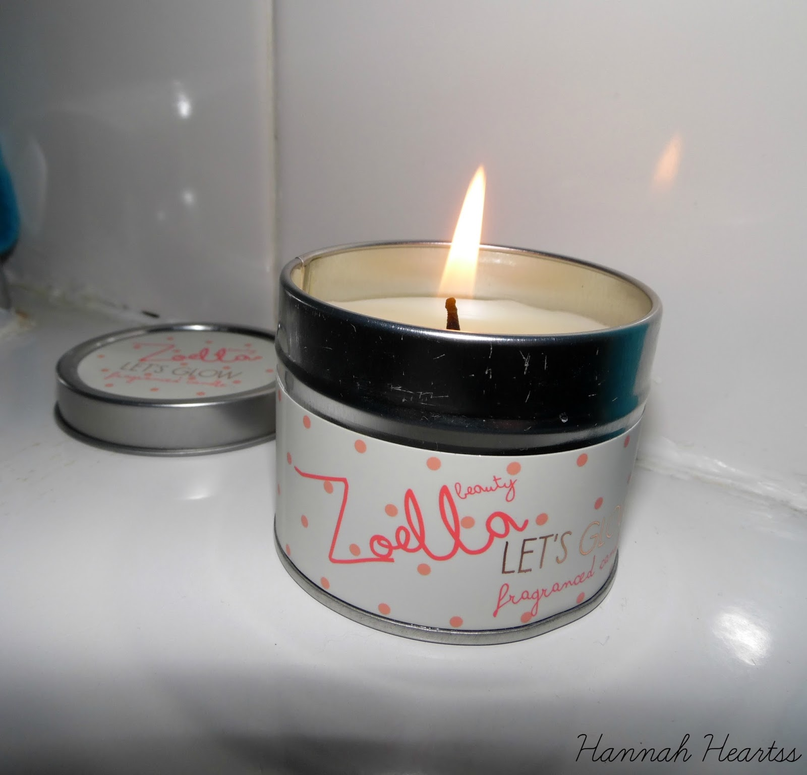 Zoella Lets Glow Candle