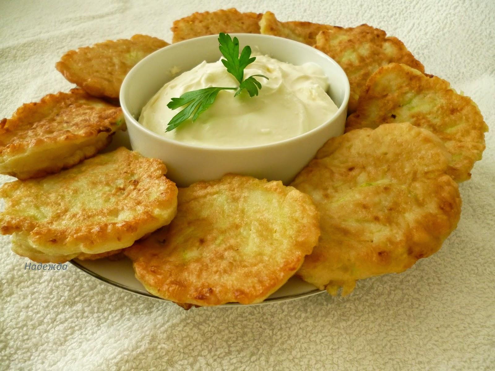 Картофельные оладьи на кефире рецепт