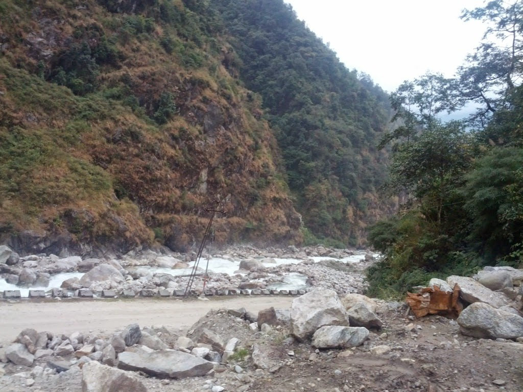 Road to North Sikkim