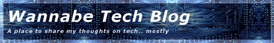 Wannabe Tech Blog
