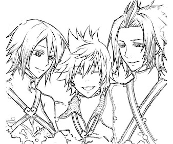 #2 Ventus Coloring Page