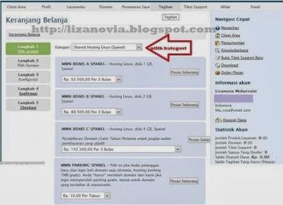 cara daftar domain