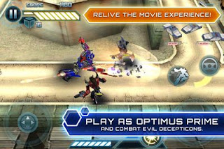 Transformers : Dark Of The Moon HD Symbian Mobile Game