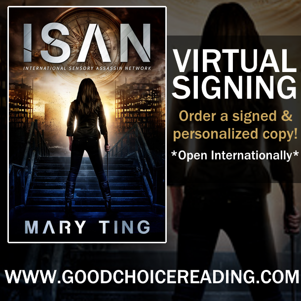 ISAN by Mary Ting Virtual Signing!