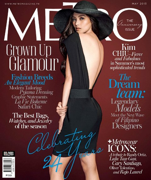 Kim Chiu very hot and sexy on Metro May 2013 cover