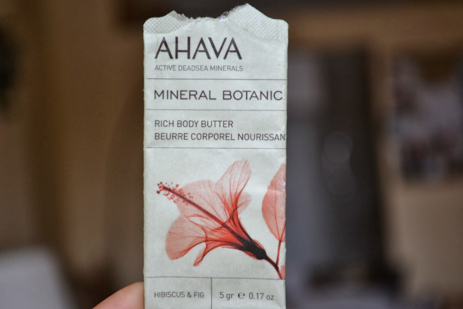 The Ahava Mineral Botanic Rich Body Butter in Hibiscus & Fig