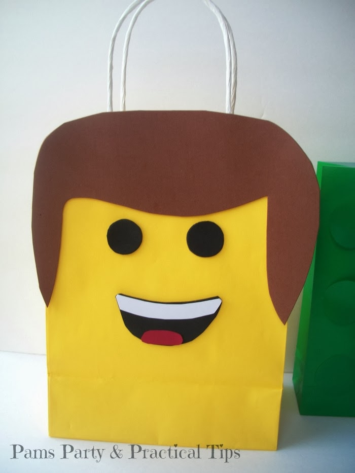 How to make your own LEGO movie Emmet bag