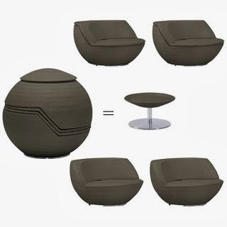Stackable Set Of Outdoor Furniture