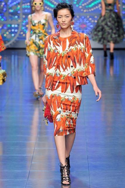 dolce gabbana20 - Dolce&Gabbana Ilkbahar 2012 | Milan Moda Haftas�