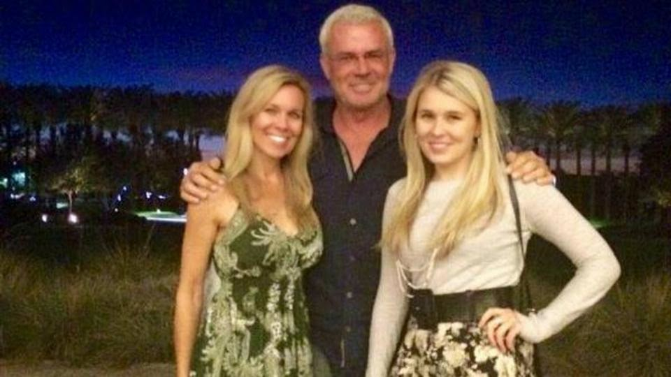 Recent Photo Of Eric Bischoff With His Wife & Daughter.