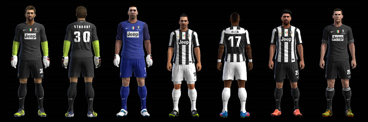 PES 2012 Juventus 12 13 Kit Set by Fatih Cesur