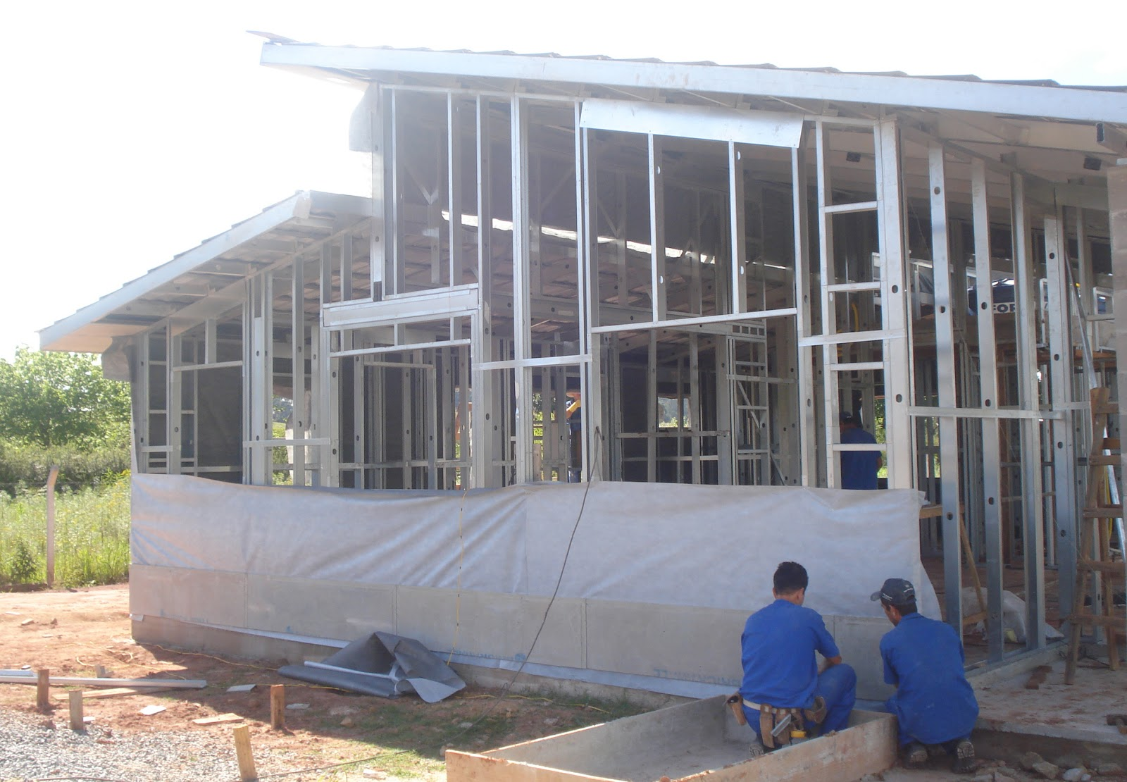 Light steel framing casa light steel aplica o - Casas steel framing ...
