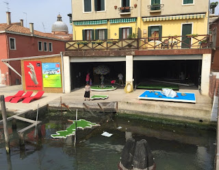 Doug Fishbone's Leisure Land Golf by EM15 at the Venice Biennale, photos by Gareth & Lurlyn Holmes