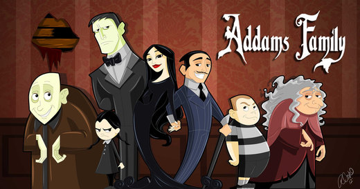 Addams Family Animated por racookie3