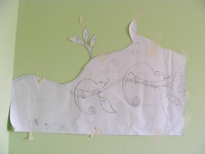 Как сделать мозаику на стене. Мастер-класс 98152