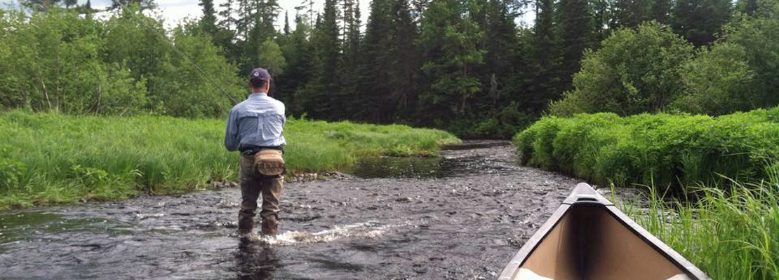 Wanderlust north to maine for Maine fly fishing