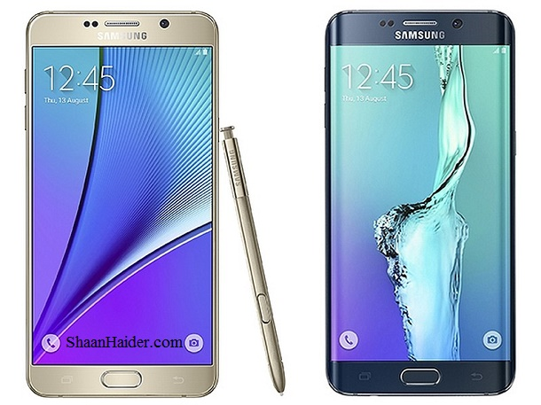 Samsung Galaxy Note 5 and S6 Edge+ : Full Hardware Specs, Features and Price