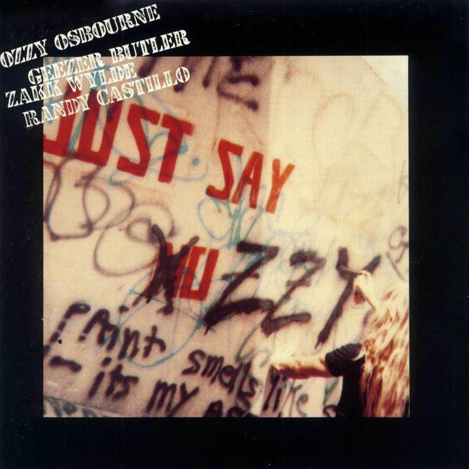Ozzy Osbourne-Just Say Ozzy-Frontal jpgOzzy Osbourne Just Say Ozzy