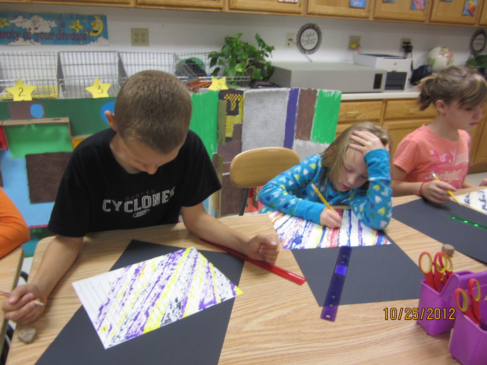 How To Make Straight Line Art : Amazing art adventures moving lines rd grade