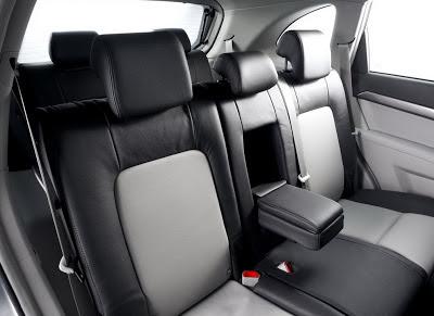 Detaliu din interiorul Chevrolet Captiva