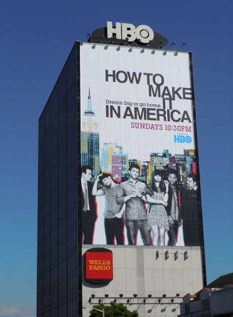 How to make it in America billboard
