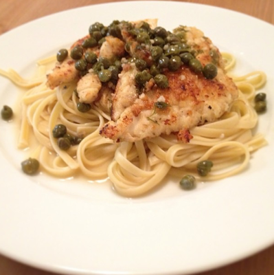 homemade chicken picatta