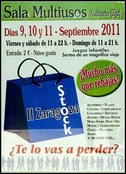 Mercadillos and markets ii feria zaragoza stock for Feria outlet zaragoza
