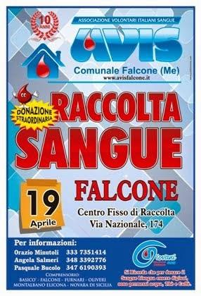Domenica 19 APRILE 2015 dalle ore 8.00 alle 12.00 AL CENTRO FISSO DI RACCOLTA A FALCONE