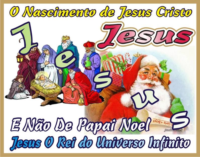 Natal O Nascimento deJesus Cristo Salvador