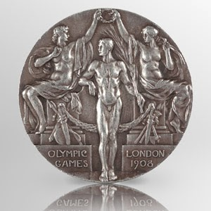 1908 Silver Olympic Medal