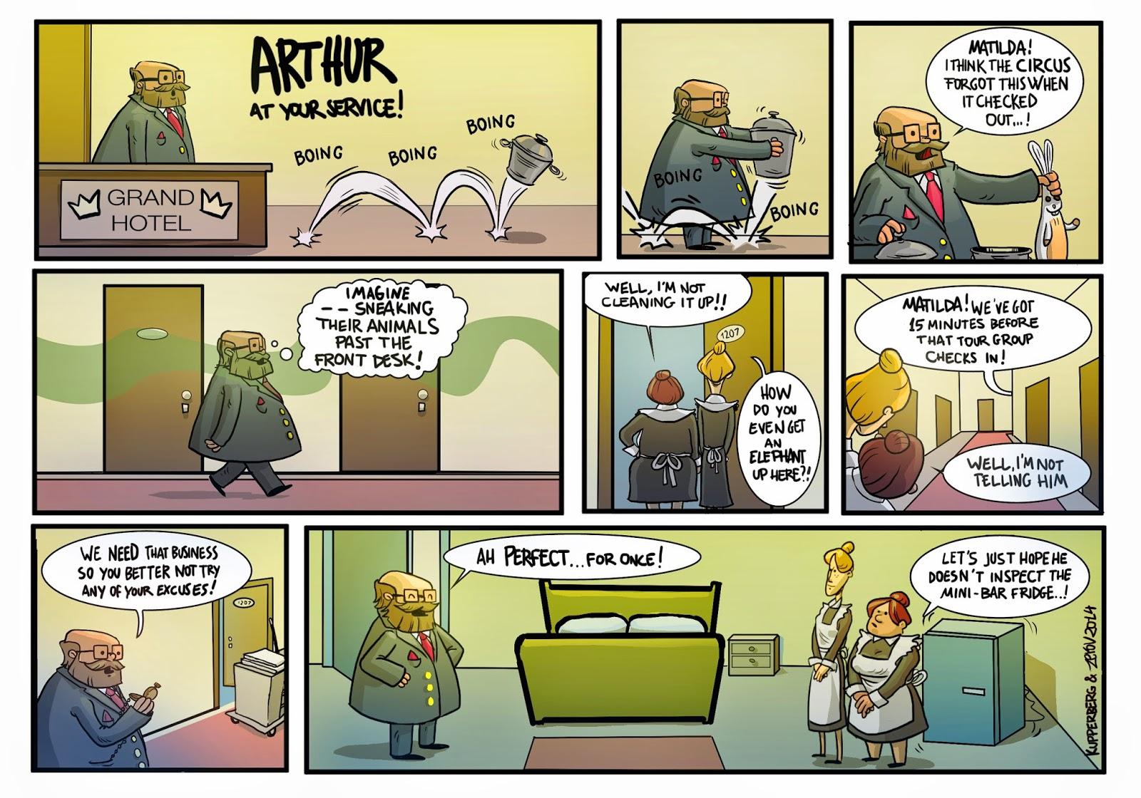 Arthur Comic Book Comic Book Star Client