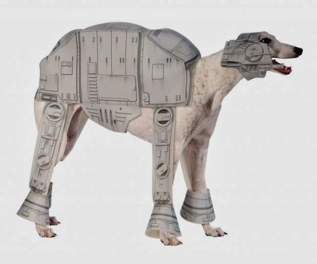 Imperial Walker dog costume