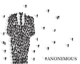 Sugerente cartel del colectivo Anonymous