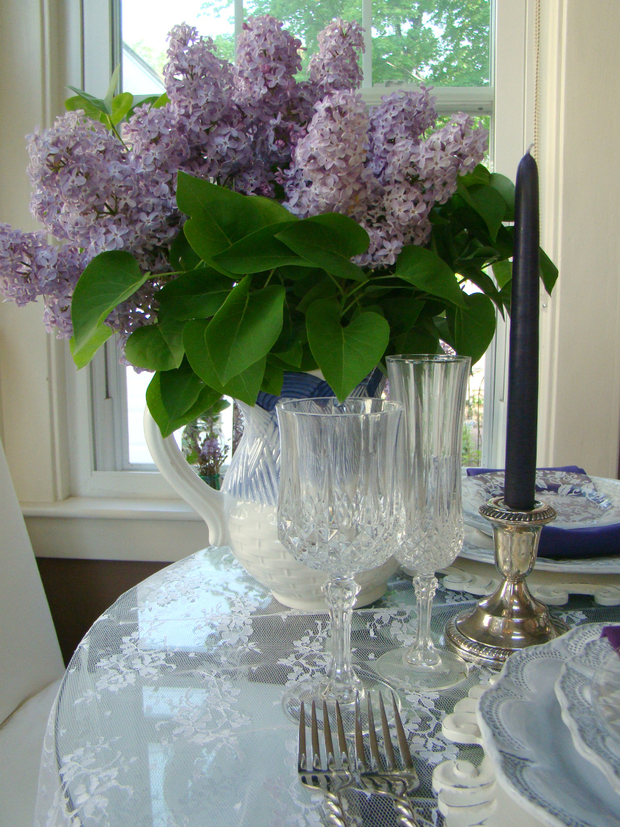 Lilacs And Lace Mountain Breaths