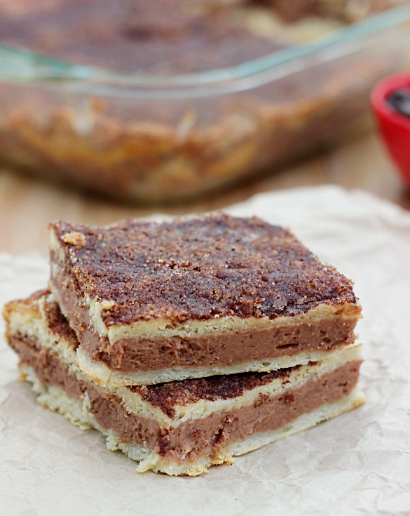 Mexican Chocolate Sopapilla Cheesecake - Whats Cooking Love?