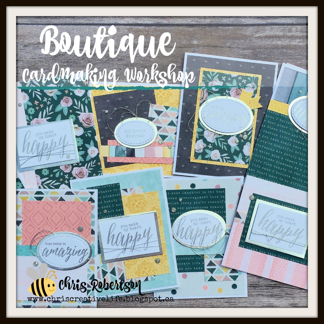 Boutique Cardmaking Workshop
