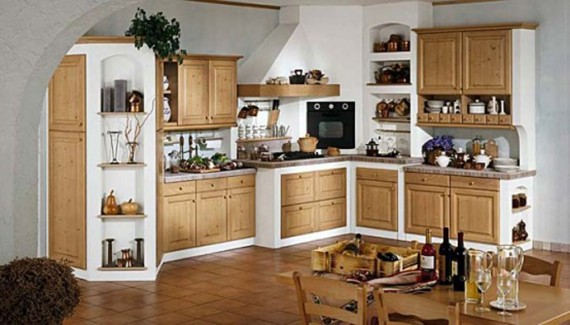 Good Large modern kitchen with dining room