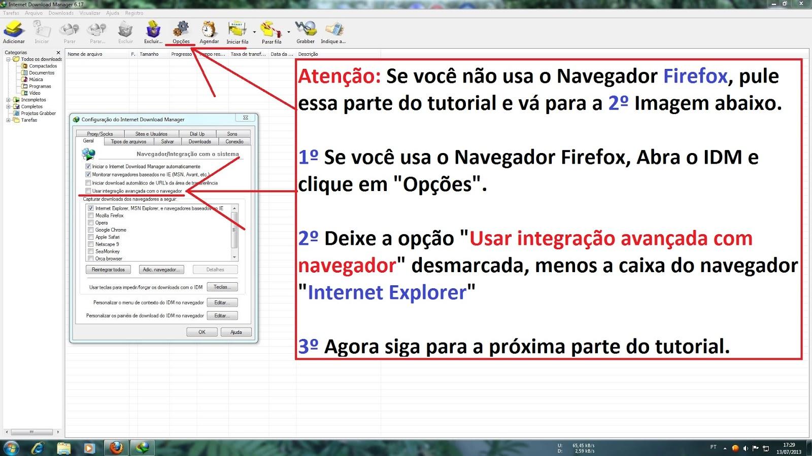Como Baixar Arquivos com a Extensão LUDNEWAGE2012 no SkyDrive Pelo Gerenciador de Downloads IDM 1º Parte