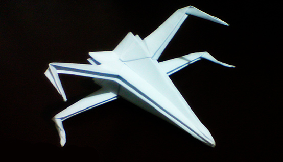 geek crafter origami xwing fighter