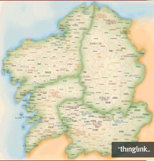 """Un mapa moi """"letrado"""""""