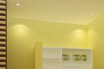 Jasa Gambar Interior Tempat Cuci Perabot Warung Makan