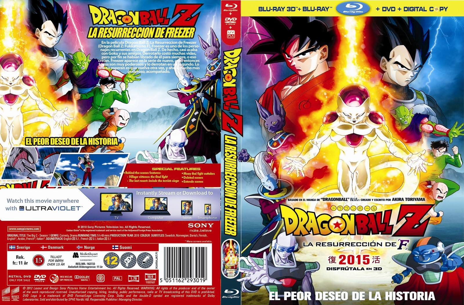 resurreccion de freezer