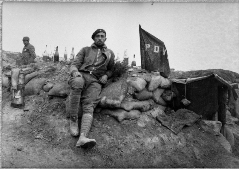 George Orwell en los Monegros