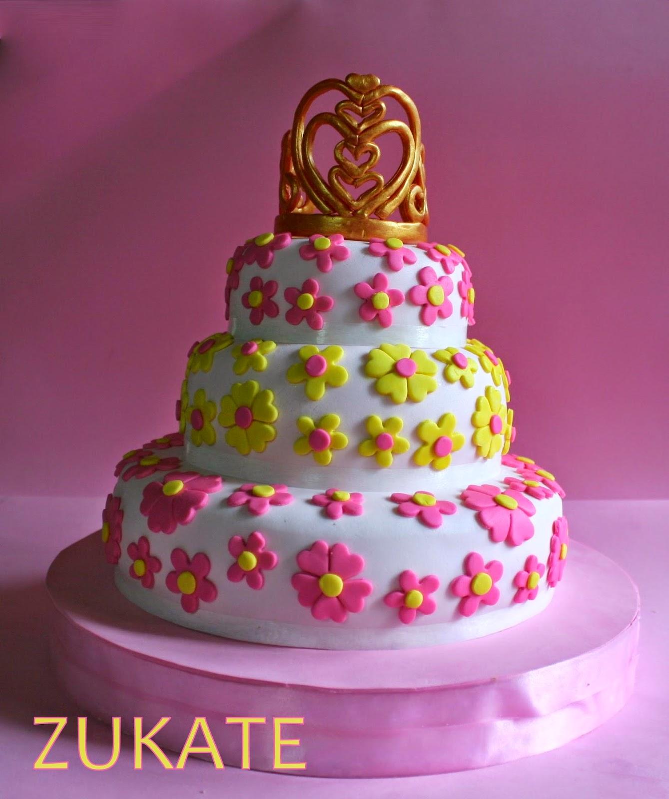 Torta de princesa para francesca zukate - Coronas infantiles de cumpleanos ...