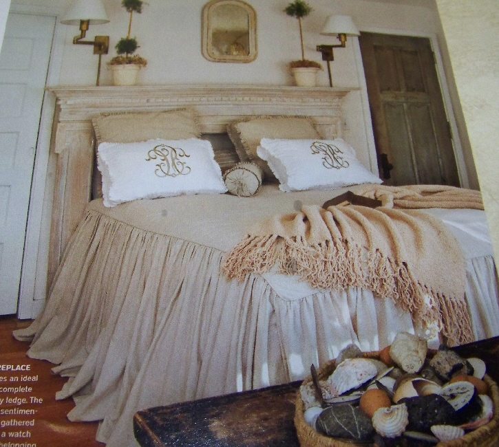 Rustic Farm Living: Shabby Chic Bedroom