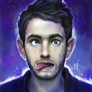 Crazy Zedd painting