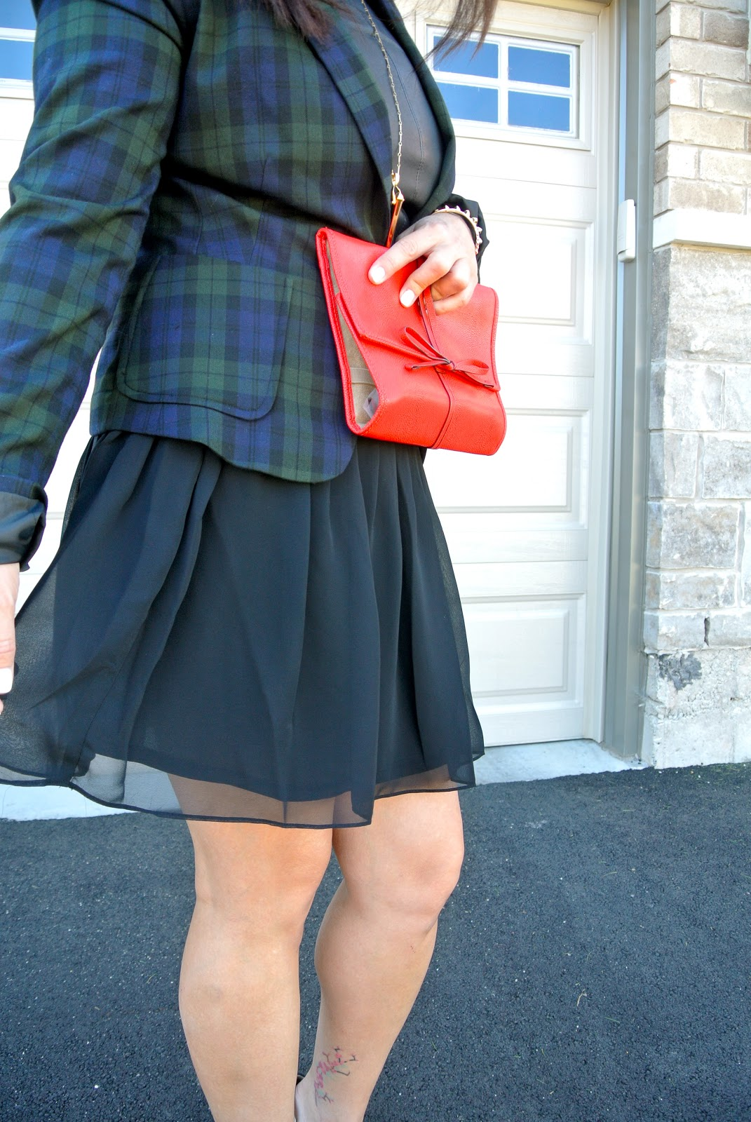 stella and dot plaid