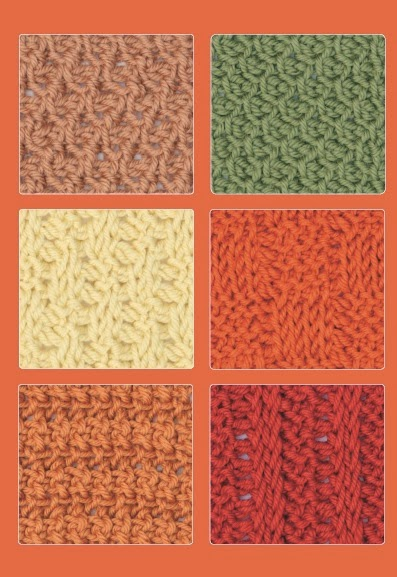 Crochet Stitches Guide Uk : Tunisian Crochet Stitch Guide ~ Book Review ~ Crochet Addict UK