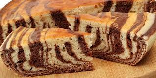 ada banyak macam variasi kue bolu salah satunya kue bolu zebra gulung ...
