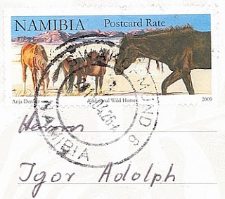 Briefmarke stamp Namibia 2009